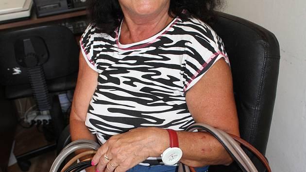 Sedm kabelek přinesla do charitativní sbírky Jarmila Pechová z Plešivce.