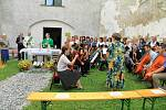 Oslavy deset let spolku německých rodáků v Pohoří na Šumavě.