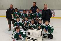 Krumlovská hokejová přípravka vyhrála CCM Cup.