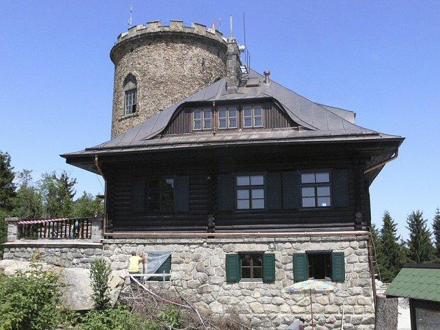 Turistická chata na Kleti opět v provozu.