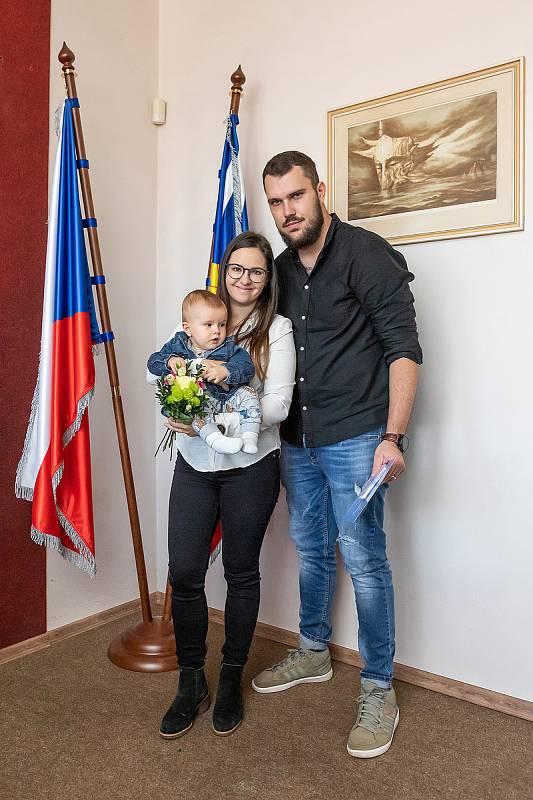 Slavnostní vítání nových občánků Dolního Třebonína.