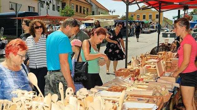 Svatojakubskou poutí žili po oba víkendové dny obyvatelé Benešova nad Černou.