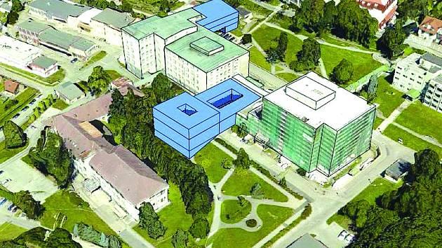 Plány Nemocnice Český Krumlov.