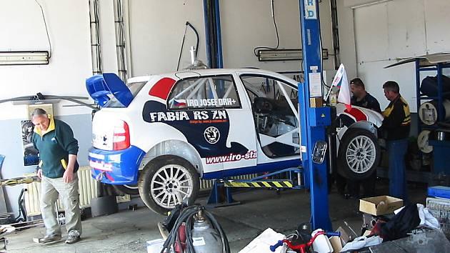 Za volantem Škody Fabia RS ZN se Josef Iro objeví až v Portugalsku.