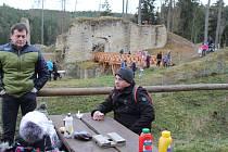 Vaření na hradě Pořešín.