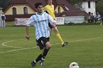 Skóre očekávaného derby otevřel už v 10. minutě frymburský útočník Stanislav Budík.
