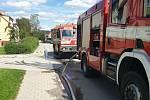 Neplánované přerušení vedení plynu v Kaplici si vyžádalo evakuaci osob v okolí.