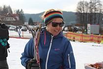 Marka Chmelařová pracuje jako instruktorka lyžování ve Frymburku.