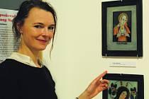 Alice Glaserová, etnografka Regionálního muzea v Českém Krumlově.
