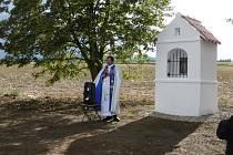 Kapličce v Horní Svinci se dostalo požehnání.