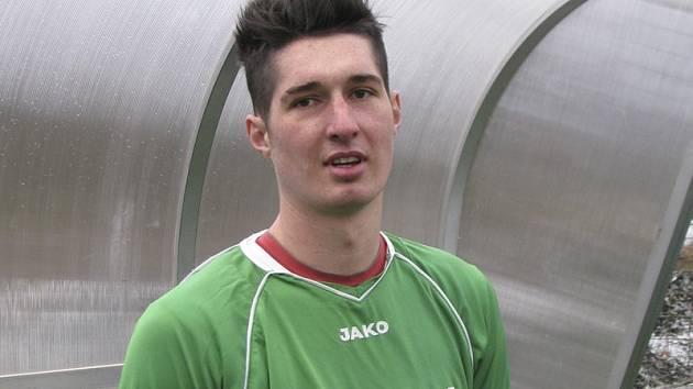 První mistrovskou trefu po návratu do zelenobílého dresu a zároveň poslední branku českokrumlovského Slavoje v mistrovské sezoně 2012/13 vstřelil v 78. minutě utkání s Hořovickem záložník Pavel Svoboda.