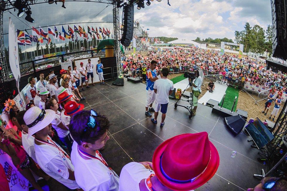 Olympionici přiletěli z Rio de Janeira rovnou do parku Rio Lipno.