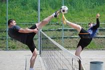 Krumlovské CPDM pořádá další ročník nohejbalového turnaje.