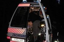 Posádka frymburkského Trans Hospital ošetřila celkem pět popálených mladých lidí.
