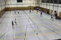 V krumlovské městské sportovní hale se bude od příští sezony opět hrát nejvyšší soutěž - extraliga smíšených družstev dospělých.