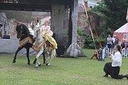 Zábavné programy nabízely i kláštery a jejich zahrady a Pivovarská zahrada.