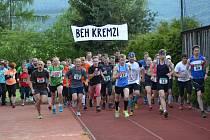 Na společný start hlavního závodu mužů, žen a veteránů se postavil rekordní počet jedenaosmdesáti běžců.