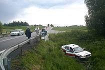 Další dopravní nehoda u Třebonínů.