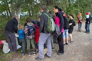 Pohádkový les přilákal v sobotu rekordní počet dětí.