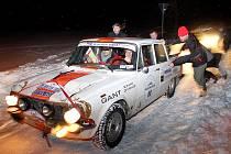 The Winter Trial 2019. Ryze zimní podmínky panovaly na jihu Čech naposledy před mnoha lety, letos si však účastníci soutěže sníh na trati určitě užijí.