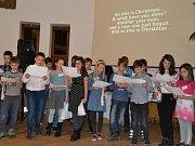 Školní projekt žáků 5.B třídy ZŠ Křemže - Advent show aneb Plníme sny.