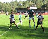 Oblastní I.A třída dorostu – 3. kolo: Spartak Kaplice / Dynamo Vyšší Brod (černobílé dresy) – SK