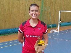 Zuzana Matoušková měla na Benáteckém poháru důvod k úsměvu. V prestižním singlu vybojovala cenný bronz.