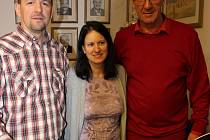 Prvního letošního občánka představili rodiče na krumlovské radnici.