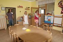 Zájemci si mohli školku prohlédnout při dni otevřených dveří.