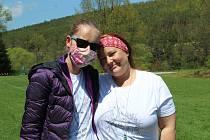 Bára Šebelková s maminkou Jitkou.