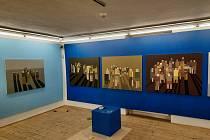 V krumlovském Egon Schiele Art Centru připravují sezónu 2021/22. Na snímku malá ochutnávka z připravované výstavy Jakuba Sýkory.