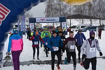 Již čtvrtý Ice Marathon odstartoval v sobotu v Černé v Pošumaví.
