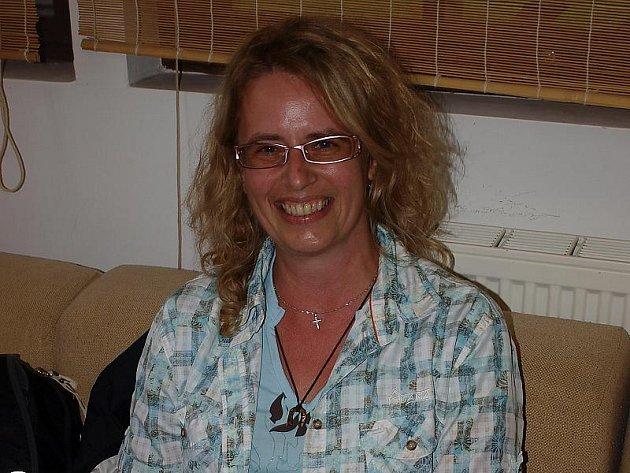 Češtině učí Němce Renata Reischl, Češka, jež se přivdala do německého Hauzenbergu.