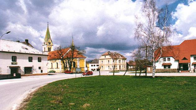 Černá v Pošumaví.