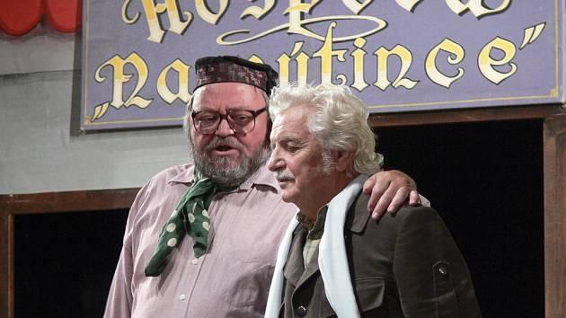 Jan Hraběta a Ladislav Smoljak (zleva).