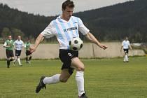 U zrodu rozhodující akce utkání stál navrátilec do frymburské sestavy, špílmachr Josef Micák.