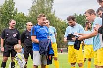 Petr Gallistl ukončil fotbalovou kariéru v osmačtyřiceti letech.
