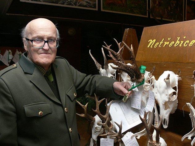 Chovatelská přehlídka trofejí v Kaplici.