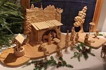 Rouhův betlém a další betlémy si můžete prohlédnout ve Velešíně až do Tří králů.