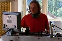 Jiří Muk má na starosti také mládežnické internetové Rádio ICM.