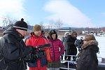 V přední Výtoni na ledě pokračovalo natáčení Nabarveného ptáčete