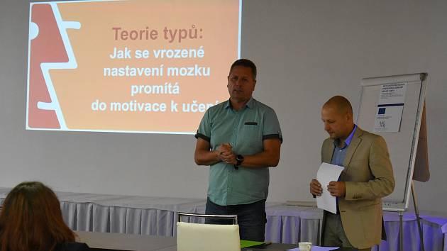 """Konferenci """"Spolupráce, inspirace, aplikace"""" v Kaplici uspořádala Místní akční skupina Pomalší."""