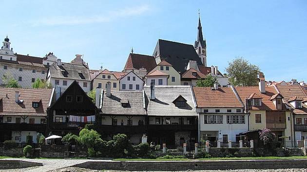 Český Krumlov, ilustrační foto.