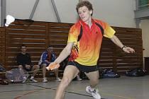 Českokrumlovský badmintonista a český reprezentant Pavel Florián.