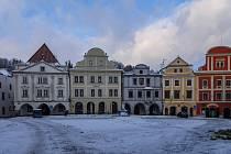 Hotel OLDINN na českokrumlovském náměstí.