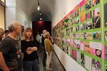 Rok 1968 na časové ose plné fotografií, tiskovin a dalších dokumentů a závěrečná tvorba Vladimíra Boudníka právě z tohoto roku jsou k vidění v českokrumlovském muzeu.