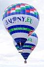 Balóny na Lipensku skýtaly, ale také umožňovaly atraktivní podívanou.