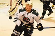 Krumlovský útočník Josef Krcho patří k nejlepším a nejproduktivnějším hráčům krajské ligy.