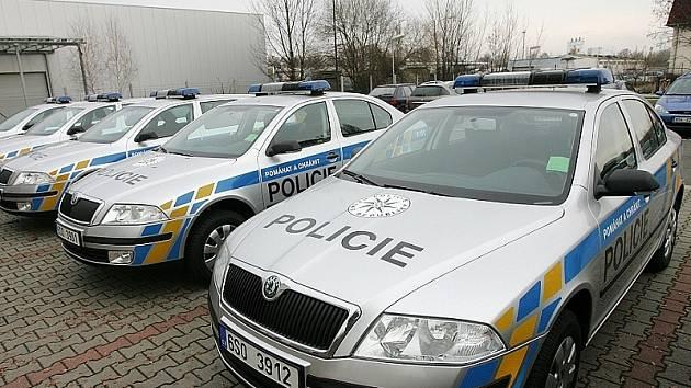 Policisté v českokrumlovském regionu se budou moci těšit z dvanácti nových octavií.