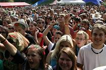 Z kulturních akcí přiláká každoročně do Rožmberka nad Vltavou nejvíce návštěvníků hudební festival České hrady.